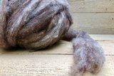 500 gram gewassen lontwol - Dassenkop (mioget)_