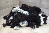 1 kilo basiswol / vulwol - gewassen (gemengd)_