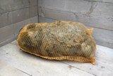 1 kilo lamswol - Blauwe Texelaar (lichtgrijs)_