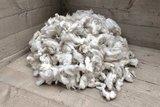 1 kilo basiswol / vulwol - gewassen (wolwit)_