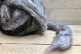 500 gram gewassen lontwol - basiswol / vulwol (gemengd)_