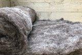 500 gram gewassen kaardvlies - basiswol / vulwol (gemengd)_