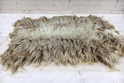 Complete vacht A-klasse - Kempisch Heideschaap (ivoorwit)