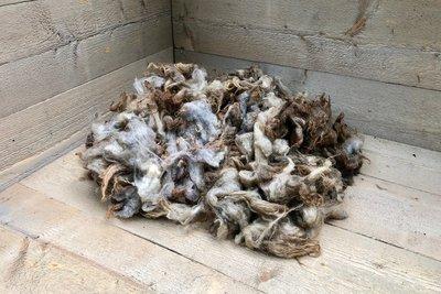 500 gram lamswol - Skudde (vos)